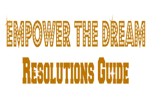 Empower The Dream Resolutions